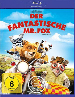 Der fantastische Mr. Fox (Blu-ray) 2009