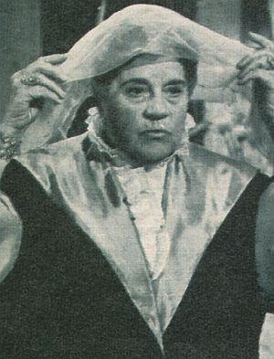 """Annie Rosar in """"Die Prinzessin von St. Wolfgang"""""""