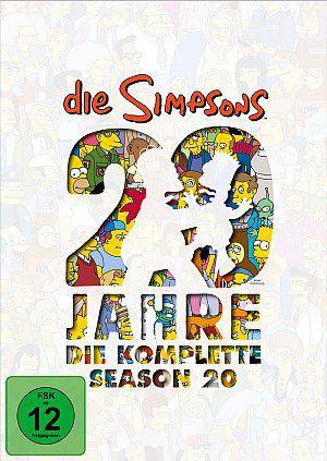 Die Simpsons - Die komplette Season 20 (K-DVD) 2000