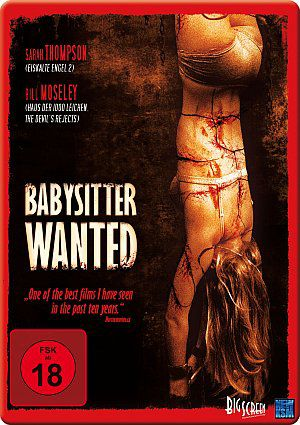 Babysitter Wanted (Iron Edition) (DVD) 2008