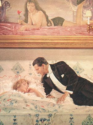 Film Revue, 20. Januar 1959, Jahrgang 13,  Nr.2, S. 44, Romy Schneider, Carlos Thompson, Die Halbherzige, (Retro)