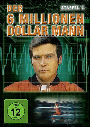 Der Sechs-Millionen-Dollar-Mann Staffel 1 (DVD) 1974