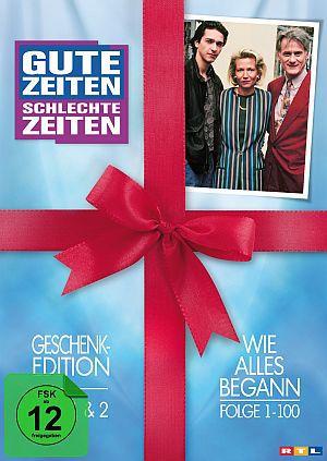 GZSZ - Gute Zeiten, schlechte Zeiten - Die Geschenkedition (Box 1+2 , Folge 1-100)
