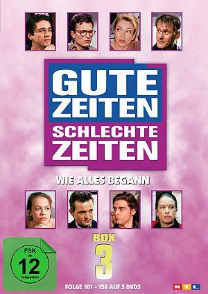 GZSZ - Gute Zeiten, schlechte Zeiten - Wie alles begann (Folge 101-150) (DVD) 1992