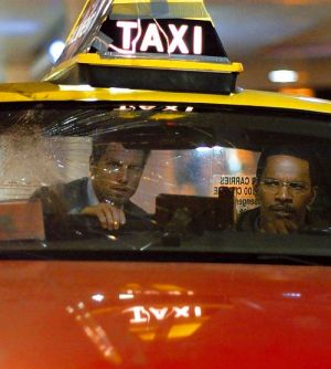 """Tom Cruise & Jamie Foxx in """"Collateral"""" (2004)"""
