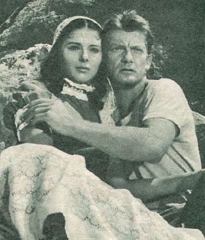 Film Revue, November 1955, Jahrgang 9, Nr.23, S. 15, Delia Scala, Jean Marais, Goubbiah (Retro)