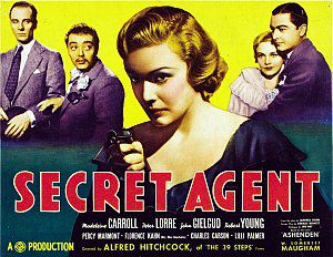 Geheimagent, Secret Agent (Kino) engl. 1936