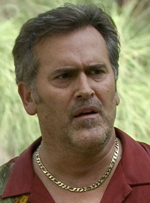 "Bruce Campbell in ""Burn Notice"""