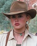 """Estella Warren im australischen Outback (""""Kangaroo Jack"""")"""