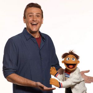 "Jason Segel in ""The Muppets"""