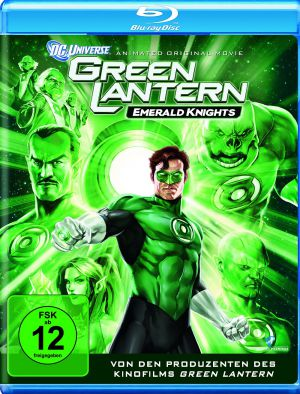 Green Lantern: Emerald Knights (Blu-ray) 2011