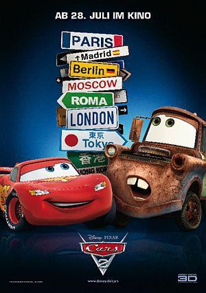 Cars 2 (Kino) Teaser 2 2011