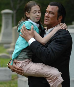 """Steven Seagal in """"Deathly Weapon"""""""