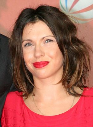 Jana Pallaske auf der Männerherzen 2-Premiere in Berlin