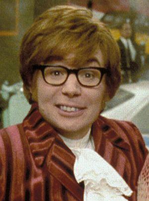 "Mike Myers als ""Austin Powers in Goldständer"""