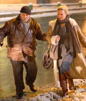 """Heinz Hoenig und Katharina Böhm in """"Russisch Roulette"""""""