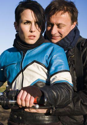 "Noomi Rapace und Michael Nyqvist in ""Verblendung"""