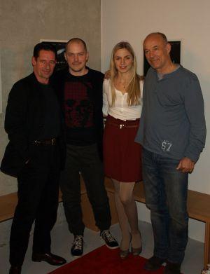 """Heiner Lauterbach mit Kollegen auf der Premiere von """"Reality XL"""" in München"""