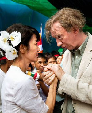 "Michelle Yeoh und David Thewlis in ""The Lady - Ein geteiltes Herz"""