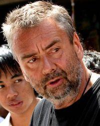 Luc Besson am Set von