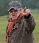 """Steven Spielberg auf dem Set  """"Gefährten"""""""