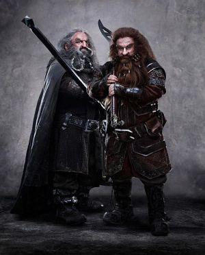 """John Callen und Peter Hambleton in """"Der Hobbit - eine unerwartete Reise"""""""