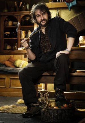 """Peter Jackson am Set von """"Der Hobbit - eine unerwartete Reise"""""""