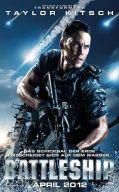Battleship-Poster mit Hauptdarsteller Taylor Kitsch
