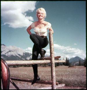 "Marilyn Monroe in ""Fluß ohne Wiederkehr"""