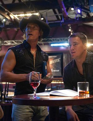 "Matthew McConaughey und Channing Tatum in ""Magic Mike"""