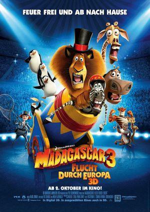 Madagascar 3 - Flucht durch Europa (Kino) 2012