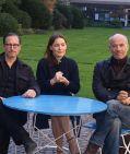 """Benno Fürmann, Nicolette Krebitz und Heiner Lauterbach beim Fototermin zu """"Oktoberfest, das Attentat"""" in München am 8. Oktober 2012"""
