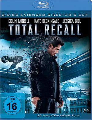 Total Recall (Director's Cut + Kinoversion) (BD) 2012