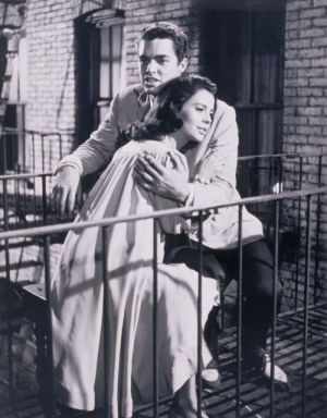 Richard Beymer, Natalie Wood, West Side Story (Szene 98854) 1961