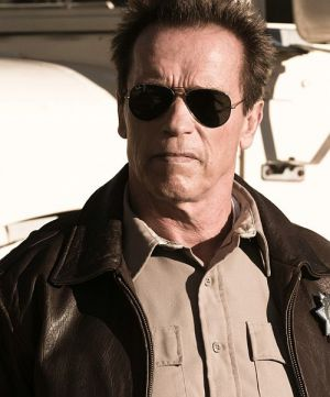 "Arnold Schwarzenegger in ""The Last Stand"""