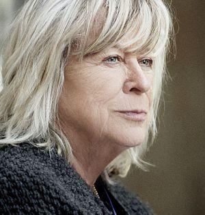 """Margarethe von Trotta am Set von """"Hannah Arendt"""""""