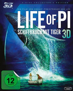 Life of Pi: Schiffbruch mit Tiger 3D (3Disc Collector's Edition)