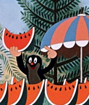 Der kleine Maulwurf, Krtek (Szene) 1957