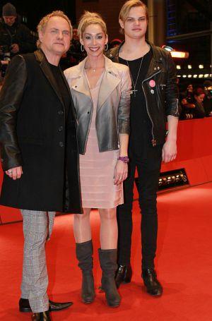 Uwe Ochsenknecht, Freundin Kirsten und Sohn Wilson Gonzalez in Berlin