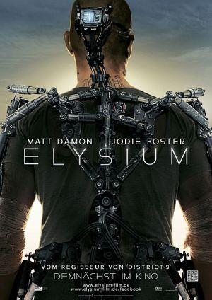 Elysium (Kino) Teaserplakat 2013