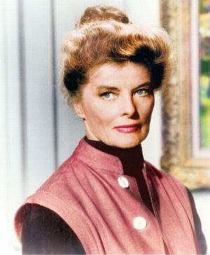 """Katharine Hepburn in """"Rat mal, wer zum Essen kommt?"""""""