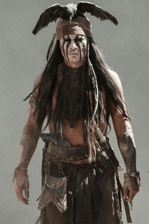 "Wilder Krieger: Johnny Depp in ""Lone Ranger"""