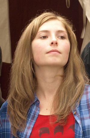 """Lilian Prent am Set """"Mara und der Feuerbringer"""""""