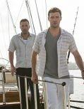 "Ben Affleck und Justin Timberlake in ""Runner Runner"""
