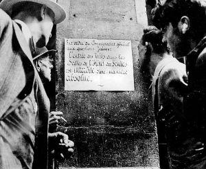 Marcel Ophüls: Das Haus nebenan - Chronik einer französischen Stadt im Krieg (Szene) 1969