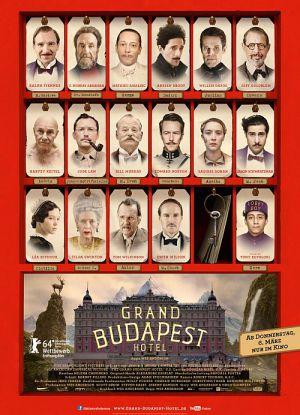 Grand Budapest Hotel (Kino) 2014