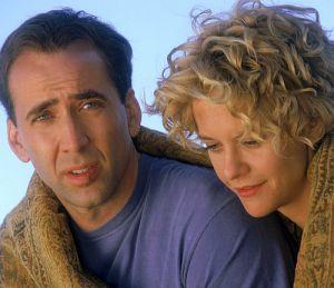 """Verliebt: Meg Ryan und Nicolas Cage in """"Stadt der Engel"""""""