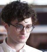 "Daniel Radcliffe als junger Allen Ginsberg in ""Kill Your Darlings"""