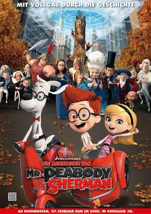 Die Abenteuer von Mr. Peabody & Sherman 3D (Kino) 2014