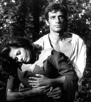 Jean-Paul Belmondo, Claudia Cardinale, Cartouche, der Bandit (Szene 008-1) 1962